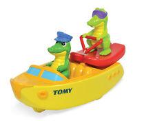 Tomy Ski Boat Croc Crocodile Bath Toy Baby Kids BathTime Entertainment NEW 2015!