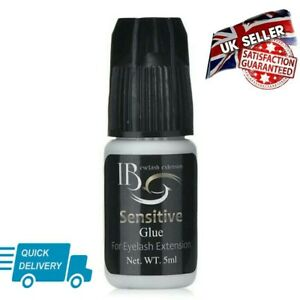 IB Ultra Sensitive Eyelashes Extension Adhesive Glue Black 5g