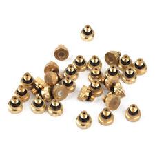 30pcs 0.012'' Brass Misting Nozzle Sprinkler For Cooling System 10/24 UNC