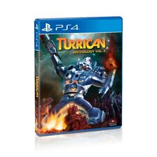 Turrican Anthology Vol. 2 PS4 Limited Run SLG,Region Free, Ships Worldwide