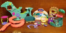 Misc. 19 Littlest Pet Shop House Items W/ 3 Small Pets *SEE DETAILS & PHOTOS