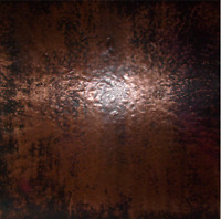 Copper Sheet by the square foot, Warm Brown Finish