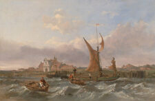 Tilbury Fort-vento against the Tide Clarkson Stanfield fortezza Inghilterra B a3 01187