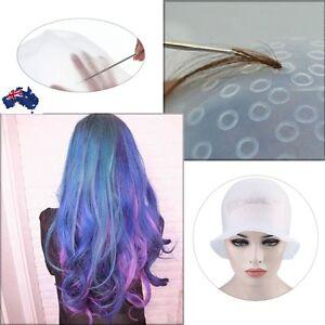 Hair Colouring Highlighting Dye Cap Frosting Tipping Reusable Silicone Salon cap