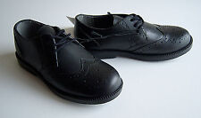 SCHOOL SHOES BLACK BACK TO SCHOOL  CHILD SIZE 11 NARROW FIT LEATHER LACE UP