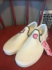 Vans MLB Classic Slip On Shoes Chicago Cubs Wool, Mens 7-11 See Details