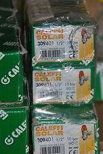 """CALEFFI SOLAR 309401 TEMPERATUR DRUCKSICHERHEITSVENTIL 1/2"""" x 15mm 10 BAR 90°"""