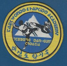 Croatia Academy, Taekwondo Academy Dan-Gun, vintage patch !