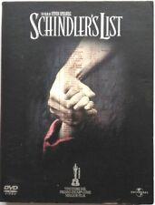Dvd Schindler's List - ed. digipack da collezione 2 dischi Usato