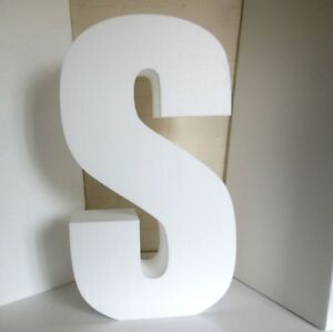 500mm High Polystyrene Letters. Big Letters For Events. 100mm thick.