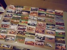 lot of 49 4 X 6 COLOR DIRT RACING PICTURES,ALL YEARS AND TRACKS,EAST COAST IM TH