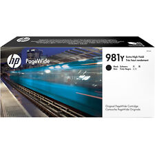 Original HP nº 981y l0r16a negro 556 586 pagewide a-ware MHD 07-08/2020