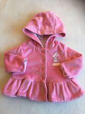 Baby Girls Clothes - Cute Newborn Velour Hoodie Jacket