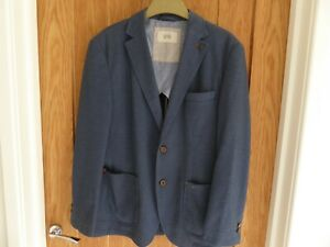 Camel Active Smart Casual Jacket Blue Size Gr 48 Medium Good Condition