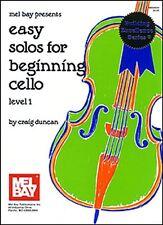 Solos facile pour violoncelle début de niveau 1