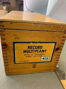 SUPER VINTAGE BOXED RECORD 045 MULTIPLANE (BEST I'VE HAD)