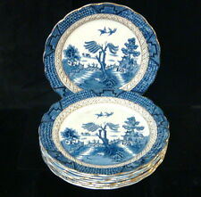 "AG Harley Jones Ye Old Chinese Willow 8 x 9 1/2"" Luncheon Plates"