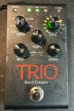 DigiTech TRIO Band Creator Guitar Effect Pedal, excellent condition w/ boxes