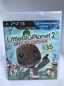 Little Big Planet 2 Special Edition (PlayStation 3 Ps3, 2010) SEALED - Y FOLD