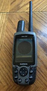 Garmin Astro 220 GPS Dog Tracking Unit & 4Gb Card IL-MO Trail Maps Free Shipping