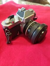 New ListingNikkormat Ft2 35mm Slr Film Camera with 50mm lens and accessories