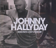 JOHNNY HALLYDAY - MON PAYS C'EST L'AMOUR - CD DIGIPACK COLLECTOR NEUF 2018