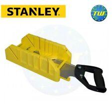 Caja de ingletes con sierra Stanley carpinteros y madera herramienta almacenamiento 1-19-800 STA119800