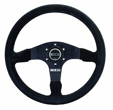 SPARCO RACING R375 R 375 SUEDE STEERING WHEEL 350MM COMPETITION DISHED CONCAVE