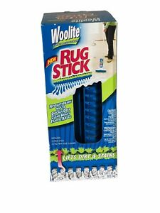 Woolite RUG STICK Carpet Cleaner Brush Kit High Traffic Area Deep Cleaning NEW