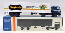 Lion Car 1/50 Scale - Nr.59 DAF 3300 Box Truck Bonduelle Model Truck