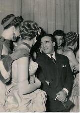 PARIS 1949 - Marcel Cerdan Champs Elysées Girls de Cabaret Boxe -  PRB 424