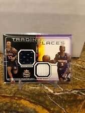 2011 2012 Fleer Focus Stephon Marbury Game Used Jersey Patch Nets Suns TP-SM
