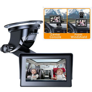 """4.3"""" Car Back Seat Mirror Display Baby Car Camera with HD Night Vision Function"""