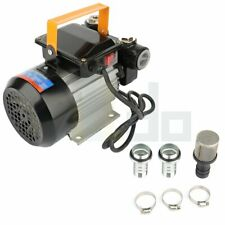 Electric Oil Pump Transfer 110V Ac Fuel Diesel With Aluminum Casing Self Prime