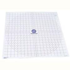 Wilton Roll And Cut Mat Fondant Dough Measured Grid Cutting Board New