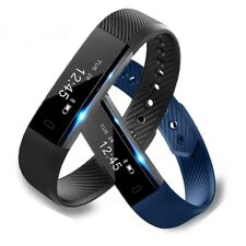 New Smart Bracelet Fitness Tracker Step Counter Activity Monitor Alarm Wristband