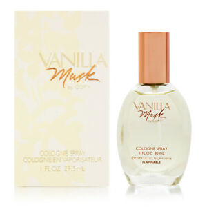 VANILLA  MUSK  30ml Cologne Spray  For Women By COTY Perfume