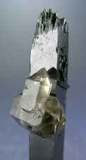 SUPER CUTE DT SMOKY QUARTZ CRYSTALS ON AEGIRINE, MT. MALOSA, MALAWI