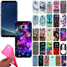 For Samsung Galaxy S8+ Plus G955 TPU Silicone Gel Skin Rubber Back Case Cover