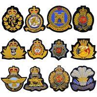 British Air Force Navy Merchant Royal Engineers REME Blazer Badge Various Design