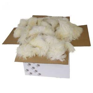 Lammfell - BASTELFELLE 5 kg Fellreste Füllmaterial Hobby Ostern Dekoration