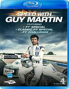 Speed with Guy Martin: F1 Special/Classic F1 Special/F1 Challenge [Blu-ray]