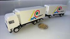 D Herpa Albedo 3/2 Kühlkoffer Hängerzug LKW 1:87 Schenker Art Trans Volvo Globet