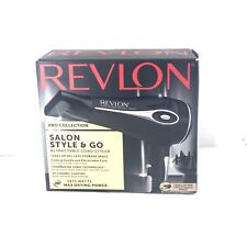 Revlon Pro Collection Salon Style & Go 1875w Hair Dryer W. Retractable Cord