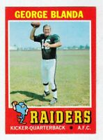 1971 Topps #39 George Blanda Oakland Raiders NEAR MINT cond. sharp #b