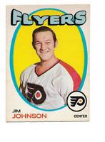 1971-72 O-Pee-Chee #48 Jim Johnson Philadelphia Flyers ***
