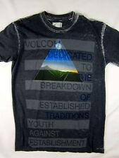 Volcom Stone Premium skate men's T-Shirt charcoal shirt size SMALL