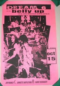 CONCRETE BLONDE DREAM 6 poster San Diego Belly Up Tavern Oct 15 1993 SECRET SHOW