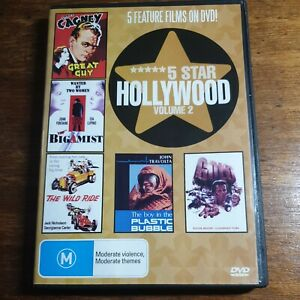 5 Star Hollywood DVD Volume 2 R4 5 Movies Great Guy Bigamist Plastic Bubble