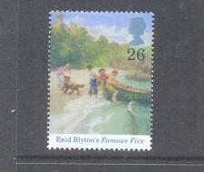 Enid Blyton-famoso cinco Literatura estampillada sin montar o nunca montada único de Gran Bretaña